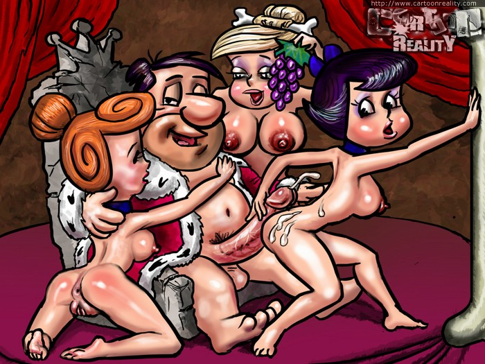 Daughter flintstones Naked fred fucking