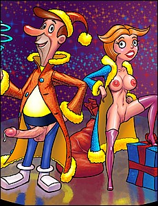 Happy New Year porn toons